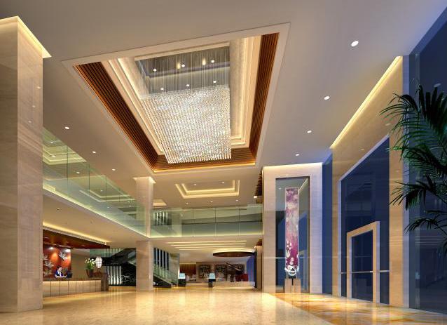 宾馆设计的重中之重就是大厅和客房的设计,对于商务酒店来