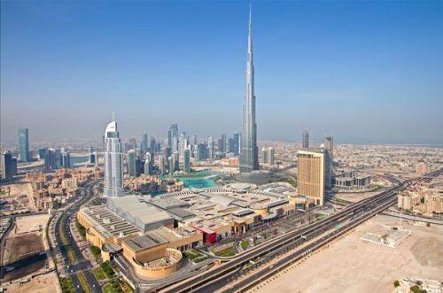 迪拜购物中心建筑设计欣赏