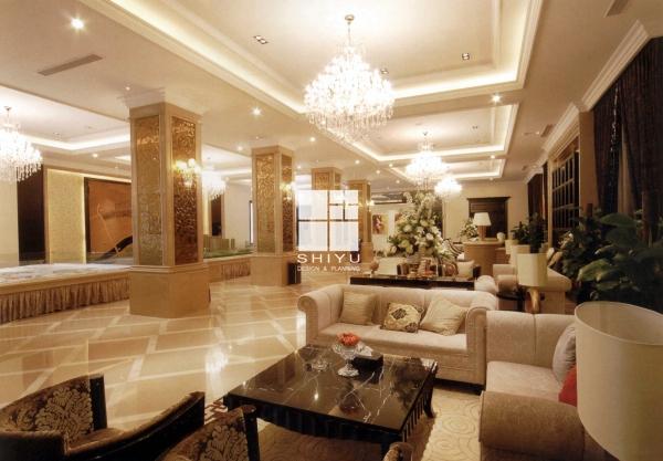 时尚欧式风格售楼部设计-绿城房产诸暨售楼部